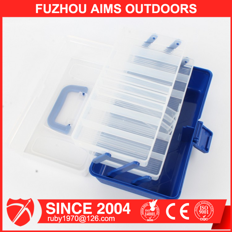 AIMS Wholesale Chinese Manufacturer Plastic Fishing Tackle Box for fishing lures