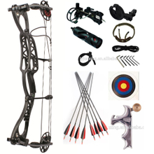 Latest Design Black Color M122 Hunting Archery Compound Bow 40-70ibs Hot Sale