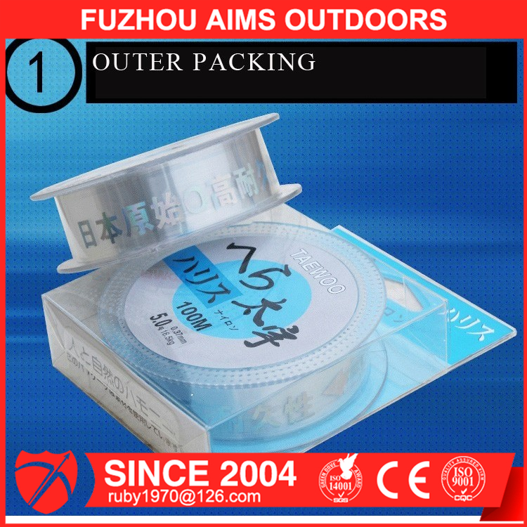 AIMS thick fishing line fishing line spool fishing braided line