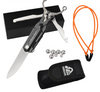 Aluminum Steel Slingshot Knife With Multifunction Pocket Knives